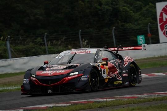 GT500クラス予選2位は笹原右京/大湯都史樹組(Red Bull MOTUL MUGEN NSX GT)