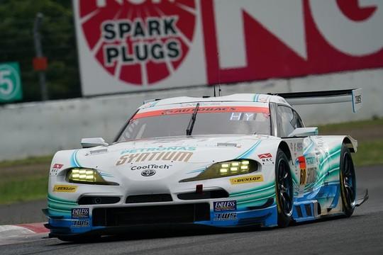 GT300クラス予選3位は吉本大樹/河野駿佑組(SYNTIUM LMcorsa GR Supra GT)