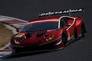 公式テスト岡山3回目: GT300クラストップタイムは松浦孝亮/坂口夏月組(グランシード ランボルギーニGT3)