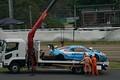 公式練習: 回収されるTeam LeMans Audi R8 LMS(Team LeMans w/MOTOYAMA Racing)