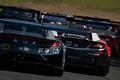 決勝レース: 道上龍/密山祥吾組(Yogibo NSX GT3)と伊沢拓也/大津弘樹組(Modulo NSX-GT)
