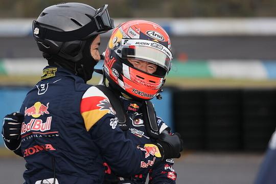 ポールポジションを獲得した大津弘樹(Red Bull MUGEN Team Goh)
