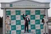表彰式: 優勝・岡本大地、2位・佐藤巧望、3位・高木悠帆