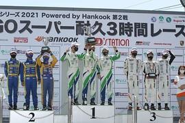 グループ2決勝: ST-4クラスの表彰式