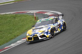 ST-Qクラストップでゴールした28号車・ORC ROOKIE Racing GR SUPRA