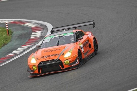 総合&ST-Xクラスで優勝した81号車・DAISHIN GT3 GT-R