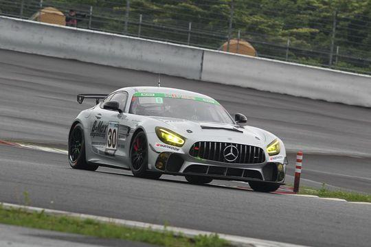 ウォームアップ: ST-Zクラストップタイムは30号車・JMS RACING AMG GT4 with B-MAX