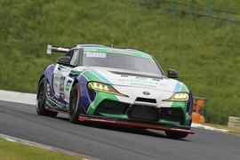 ST-ZクラストップタイムはHIRO HAYASHI/平中克幸/三浦愛組(885号車・林テレンプSHADE RACING GR SUPRA GT4)