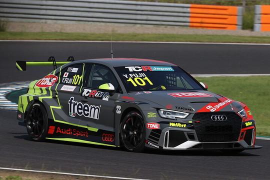 予選3位は藤井優紀(Audi Team Hitotsuyama)
