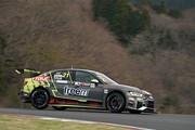 予選2位は藤井優紀(Audi Team Hitotsuyama)