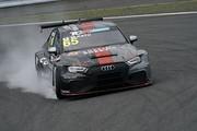 トラブルに見舞われた加藤正将(Audi Team Mars)