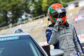 優勝した松本武士(バースレーシングプロジェクト【BRP】)