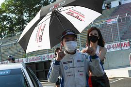レース1: 優勝した松本武士(バースレーシングプロジェクト【BRP】)