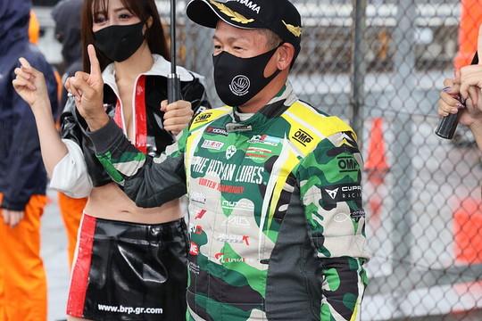 優勝したヒロボン(バースレーシングプロジェクト【BRP】)