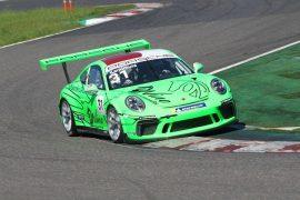 第9戦、第10戦ともプロクラスポールポジションの上村優太(Porsche Center Okazaki)